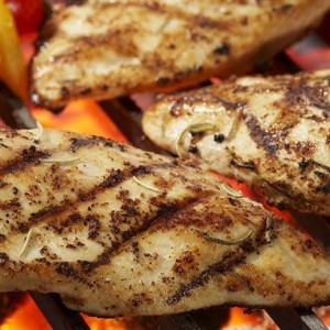 Lemon Rosemary Grilled Chicken 300x300 Eating Healthy on a Budget