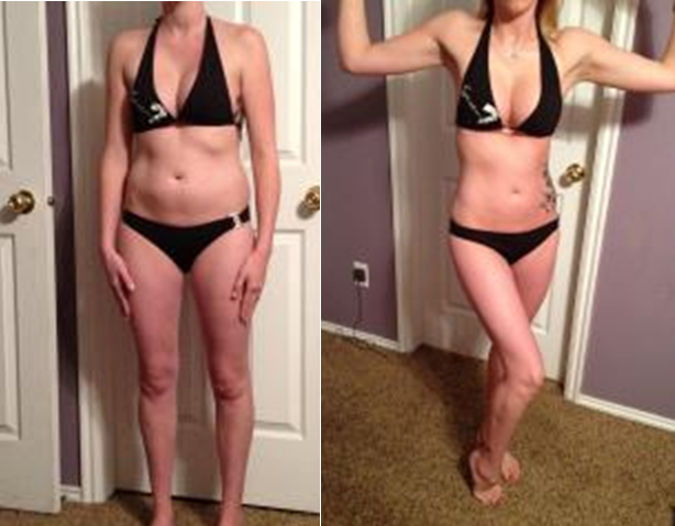 Megan Gutke - Mom of 3 with awesome P90X results